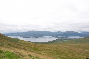 Loch Lomond from up hill
