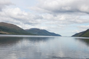 Loch Ness (We sailed in Loch Ness with the guided tour that picked us up)